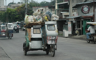 Tricycle cargo  philippin